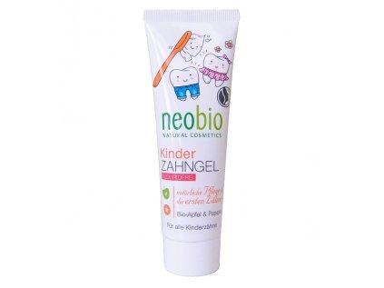 Neobio dětská zubní pasta Bio Jablko & Papája