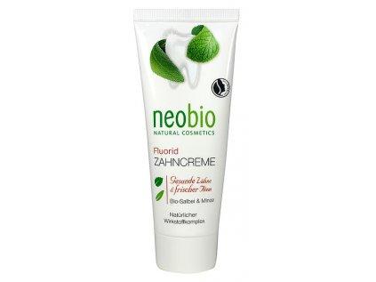 Neobio zubní pasta Bio Šalvěj & Aloe vera