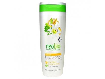Neobio šampon na lesk a regeneraci bio lilie & moringa