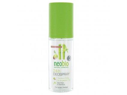 Neobio 24h Deo spray bio oliva & bambus