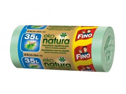 Fino Eko natura Pytle na odpad, 35l - 30ks