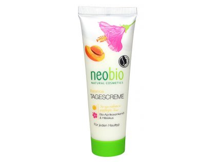 Neobio 24h Balance krém bio meruňkový olej & ibišek