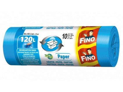 Fino Pytle na odpad - na papír, 120 l - 10 ks