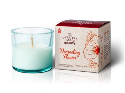 The Greatest Candle Vonná svíčka ve skle - květ darjeelingu, 75g