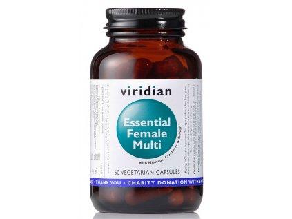 Viridian Multivitamín pro ženy, 60 kapslí