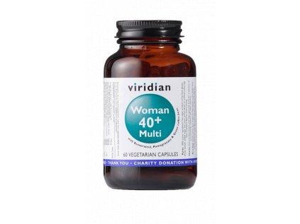 Viridian Multivitamín pro ženy 40+, 60 kapslí
