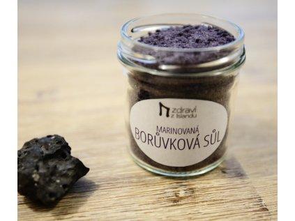 Marinovaná borůvková sůl, 150g