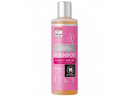 Urtekram Šampon severská bříza na suché vlasy, 250ml