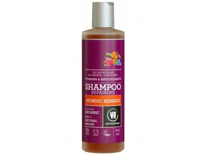 Urtekram Šampon Nordic Berries na poškozené vlasy, 250ml