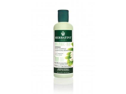 VZOREK Herbatint Moringa Repair Shampoo, bio šampon na barvené vlasy