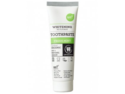 Urtekram Zubní pasta bělicí