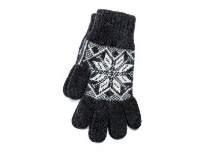 Varma Vlněné rukavice dámské, šedé
