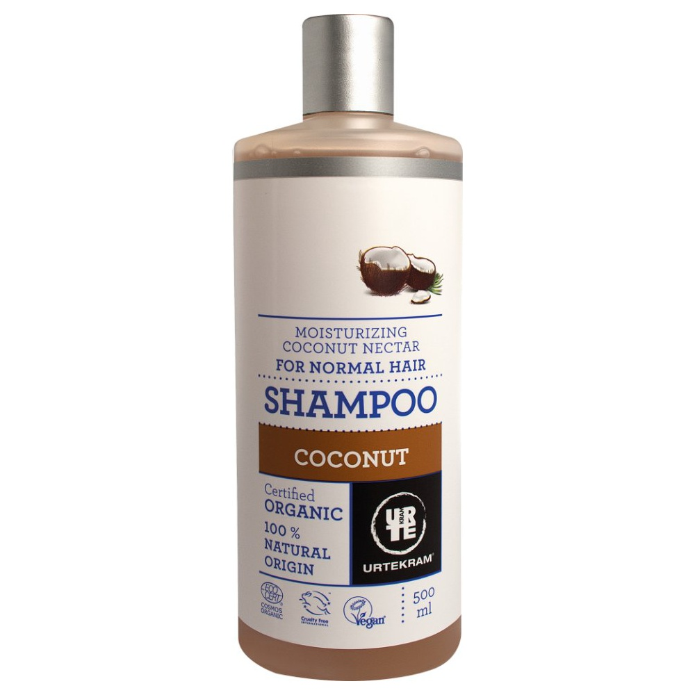 Urtekram Šampon kokosový, 500ml