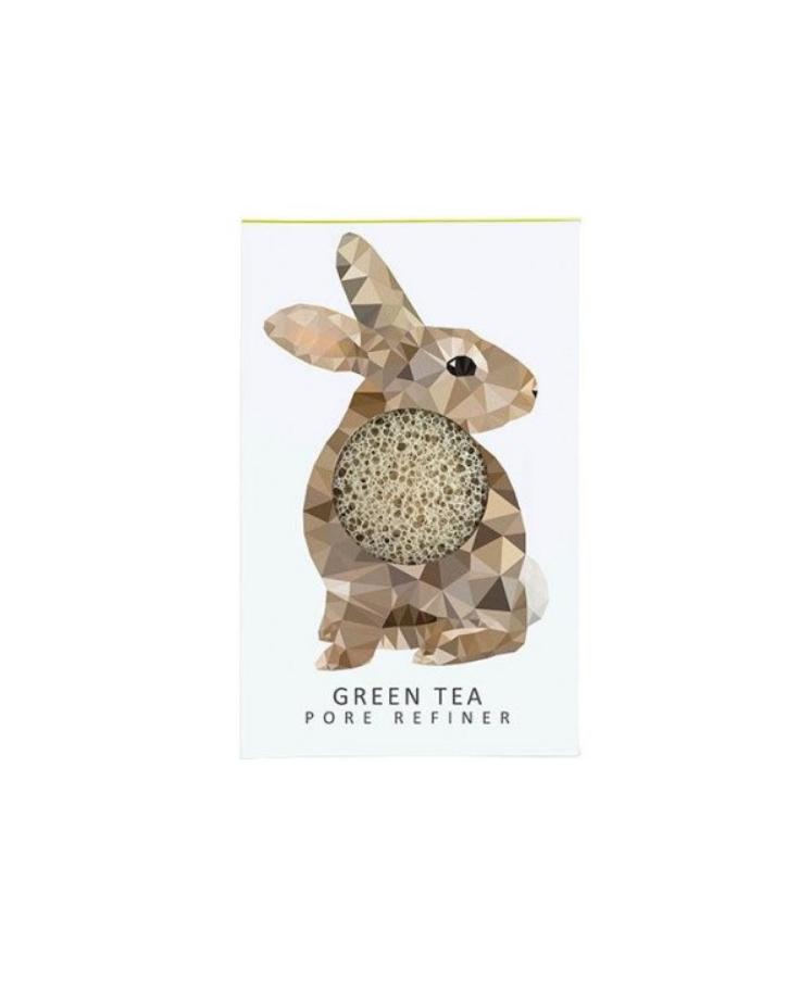 The Konjac Sponge Konjak houba Zajíc mini zelený čaj - Les