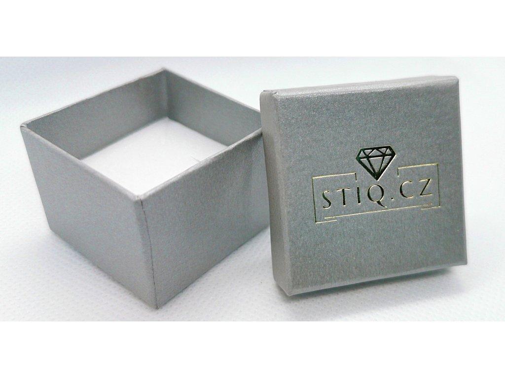 Stříbrná krabička STIQ.CZ