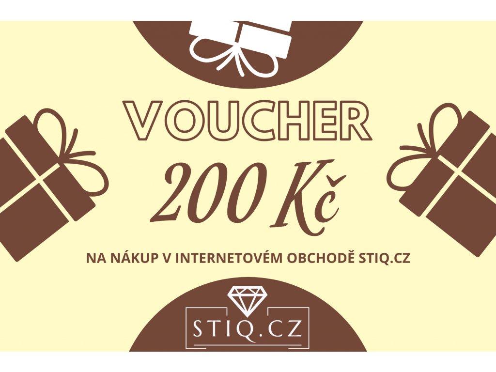 VOUCHER 200kč