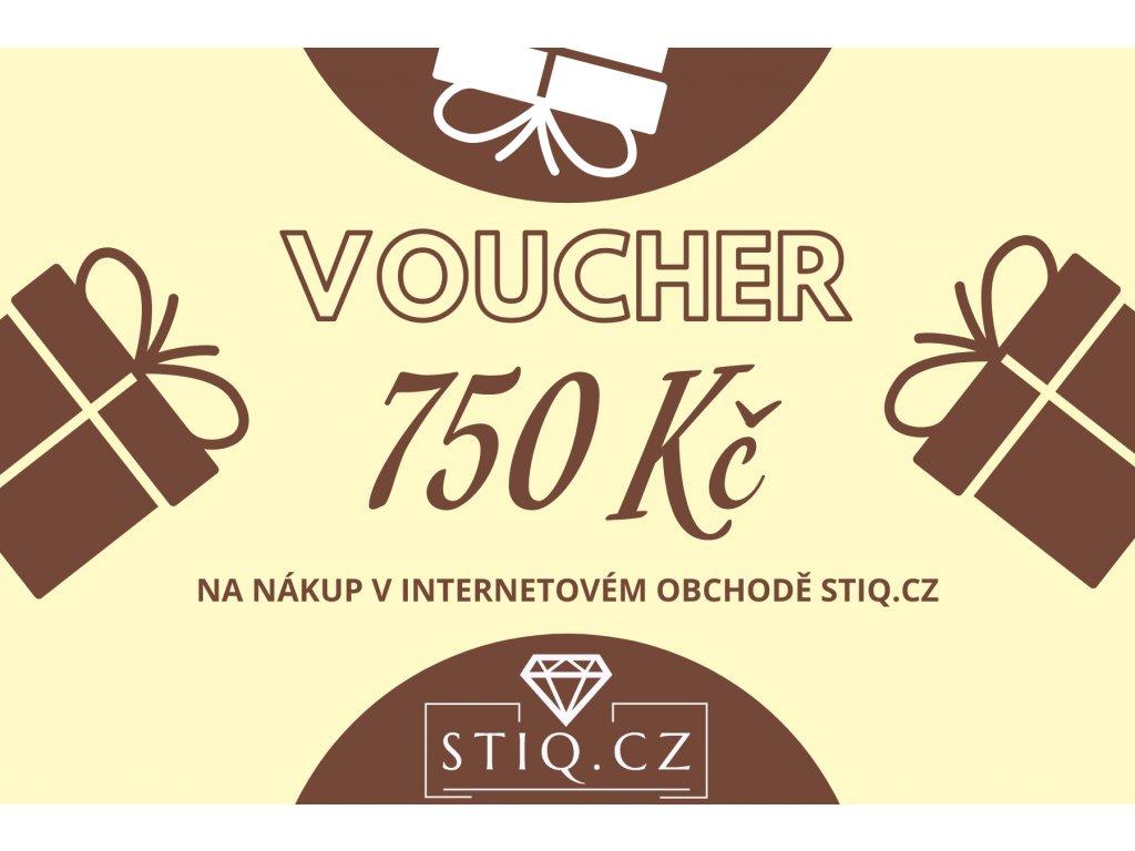 VOUCHER 750kč