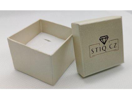 Krémová krabička STIQ.CZ