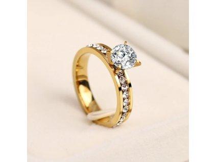 Prsten Luxury Crystal