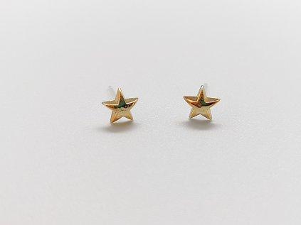 Akrylové náušnice hvězdy 2