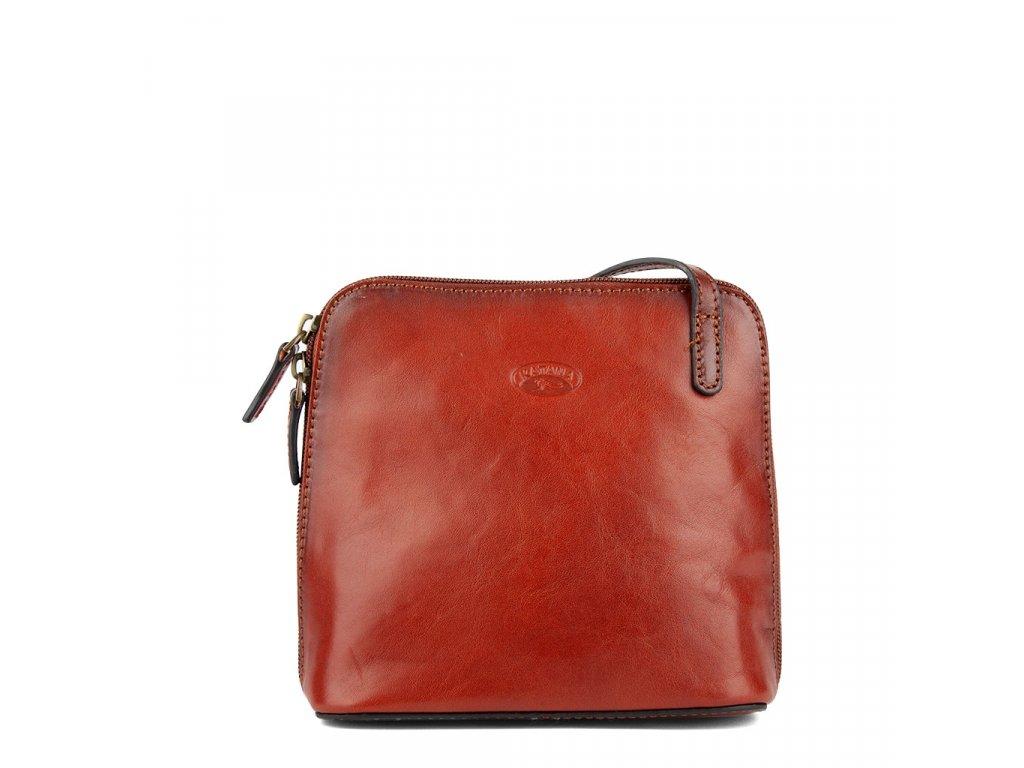 Dámská kožená kabelka přes rameno KATANA