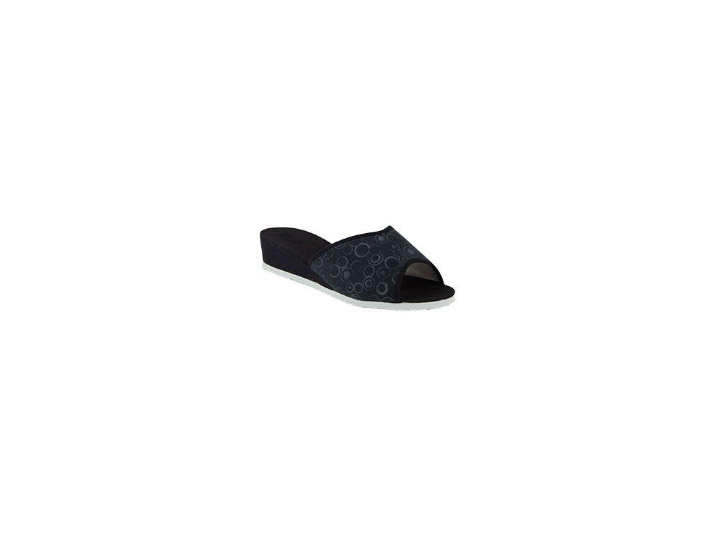 Dámské pantofle nazouvací na klínku BOKAP