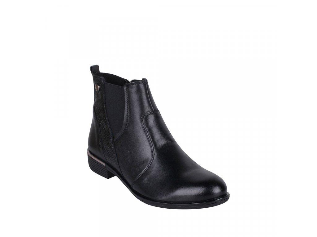 Dámská kožená kotníková obuv STIVAL