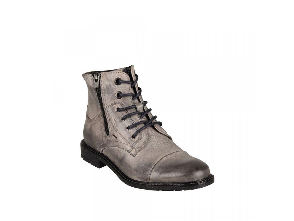 Dámská kožená kotníková obuv KLONDIKE - Sidonie