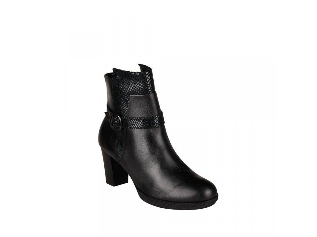 Dámská kožená kotníková obuv ALPINA