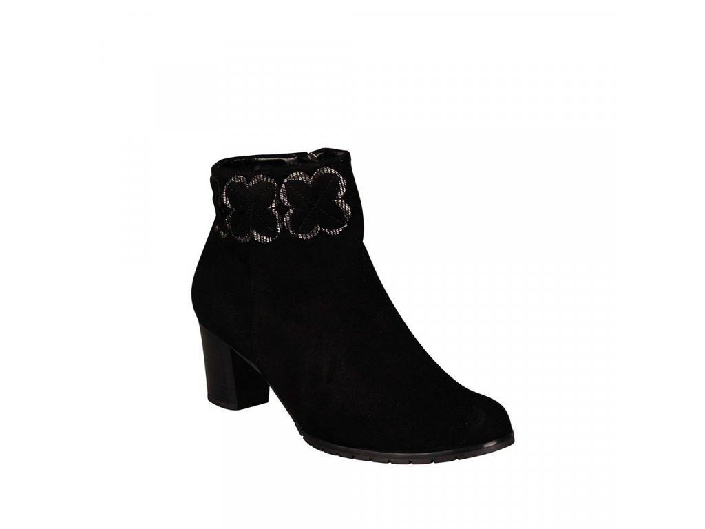 Dámská kožená kotníková obuv ALPINA - Sindi