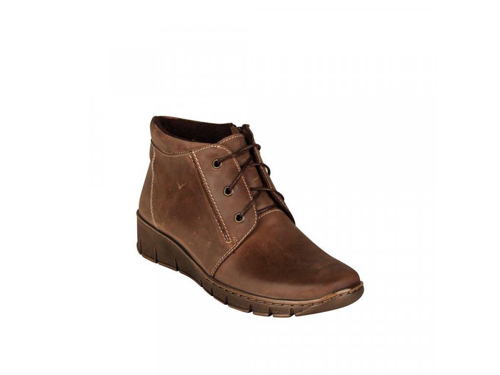 Dámská kožená kotníková obuv STIVAL - Helen