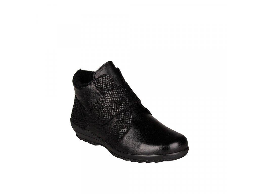 Dámská kožená kotníková obuv ALPINA - Vita šíře K