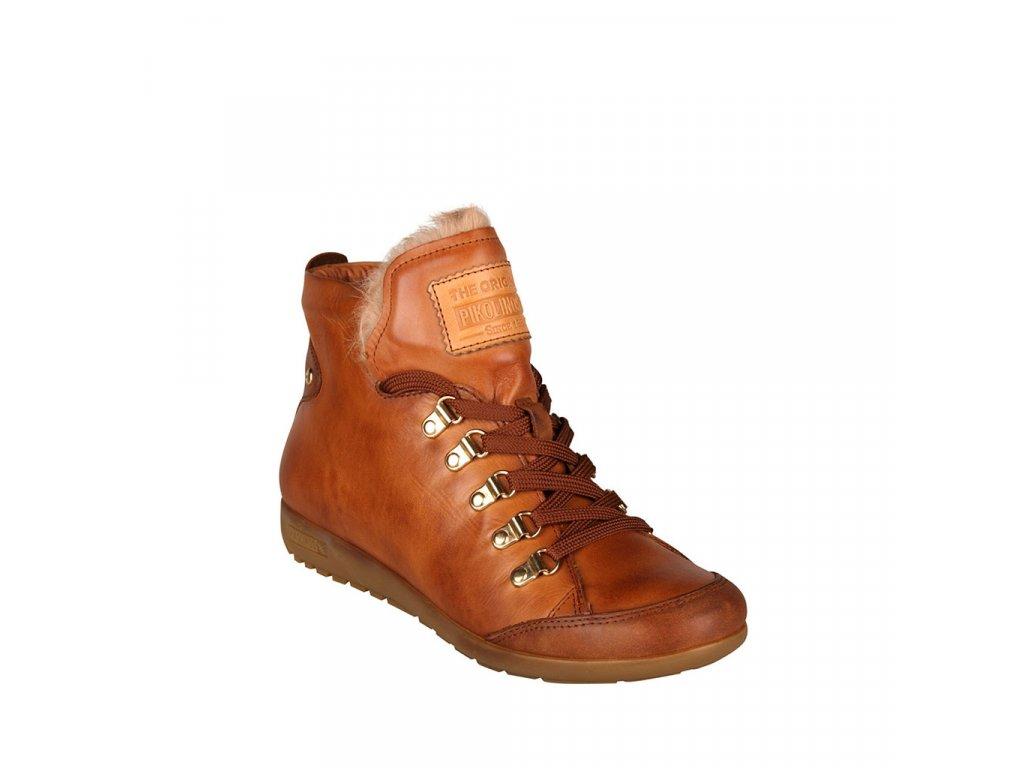 Dámská kožená kotníková obuv PIKOLINOS