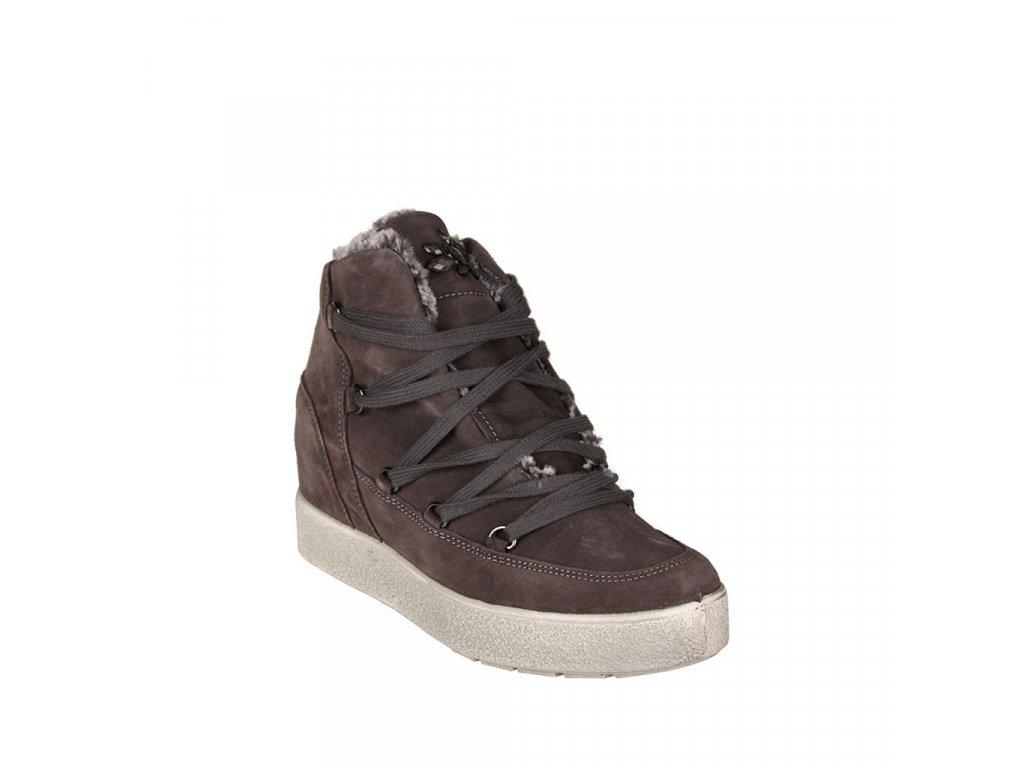 Dámská kožená kotníková obuv IMAC
