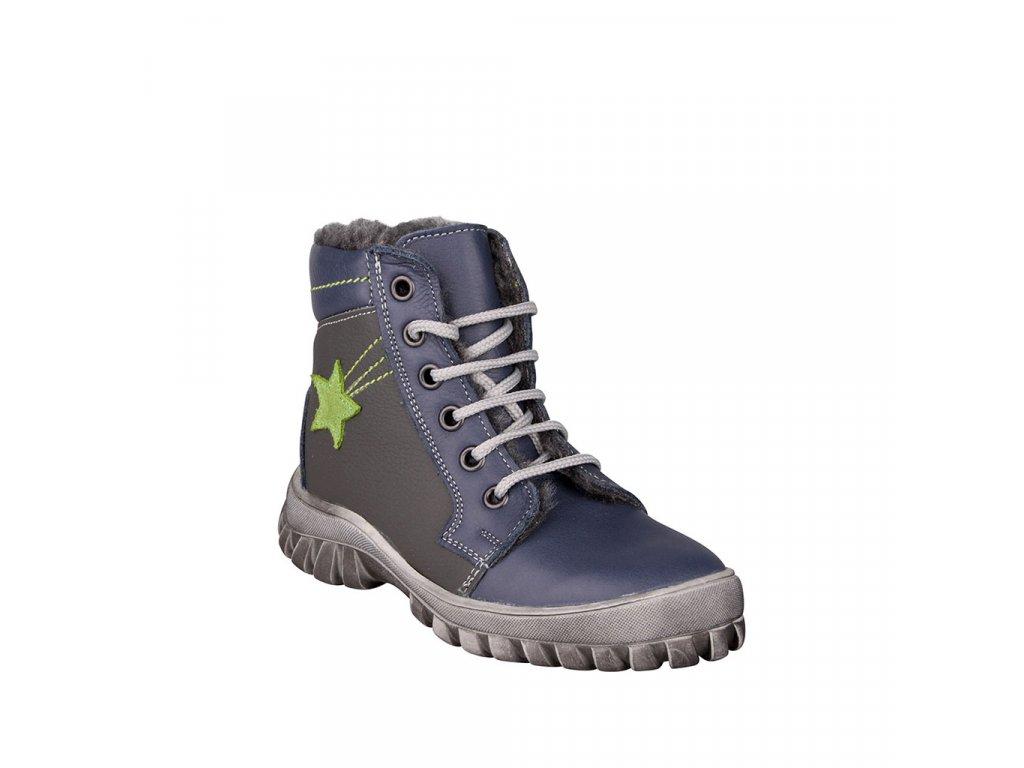 Zimní chlapecká obuv šněrovací ESSI - vel. 27 - 30