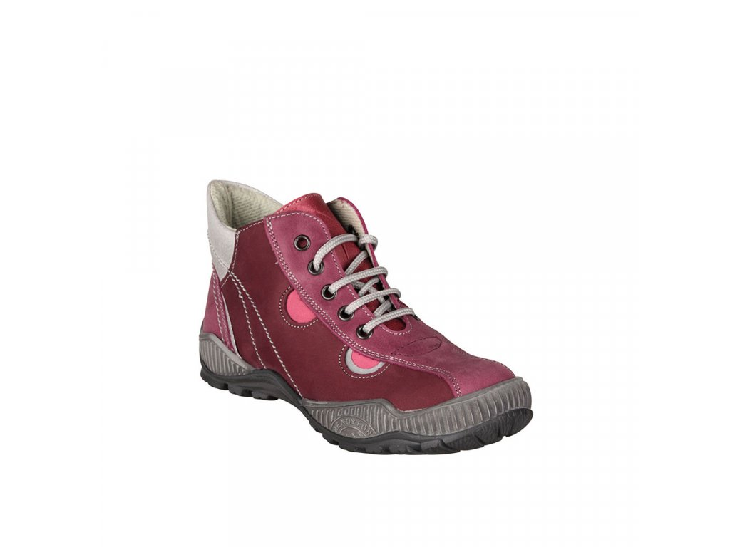 Dětská kotníková obuv pro celoroční nošení ESSI vel. 31 - 35 růžová