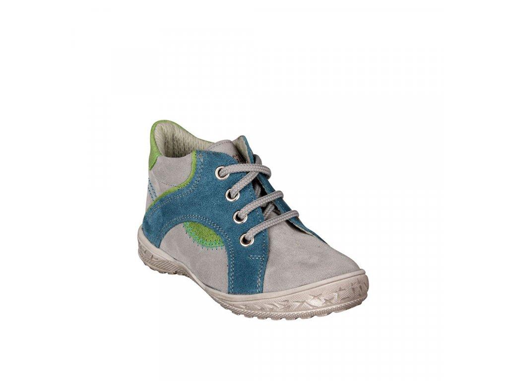 Dětská kožená obuv pro celoroční nošení ESSI vel. 23 - 26