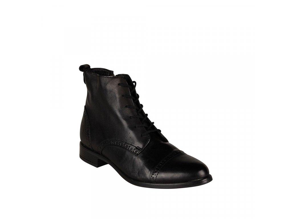 Dámská kožená kotníková obuv KLONDIKE