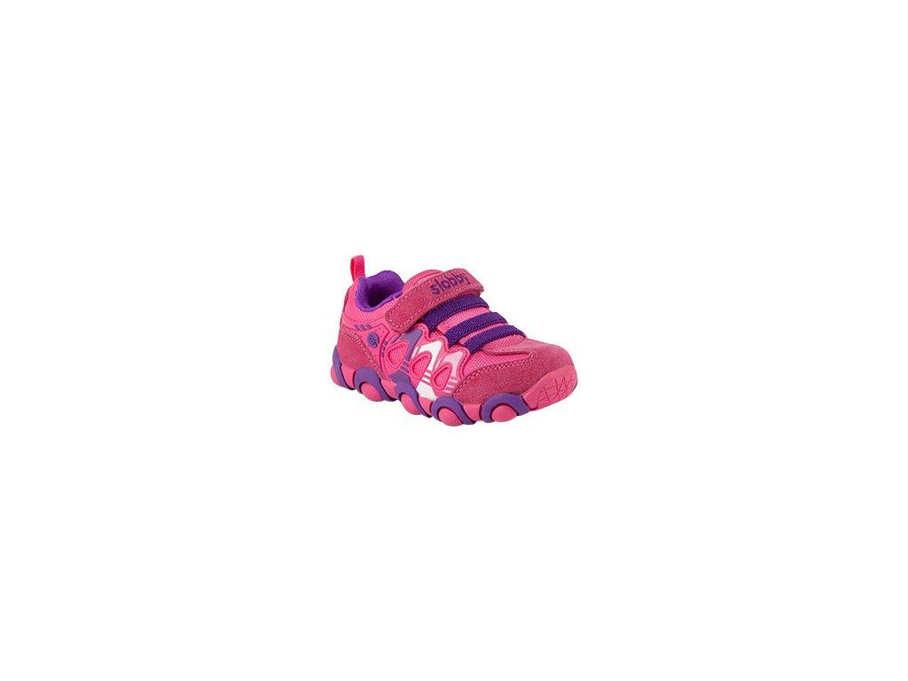 Dětská vycházková textilní obuv se suchým zipem vel. 23-26