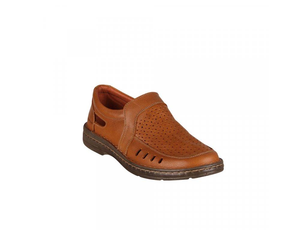 Pánské kožené sandály RICAP