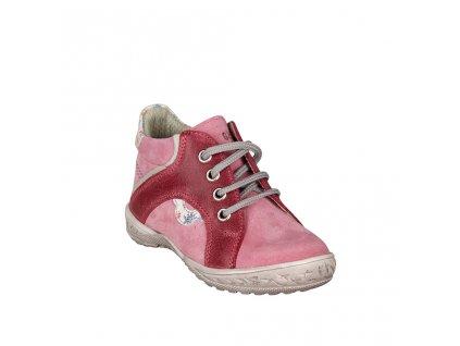 Dívčí celoroční kotníková obuv ESSI růžová vel. 24 - 26