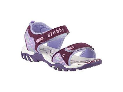 Dětské letní sandály vel. 28 - 38 fialové