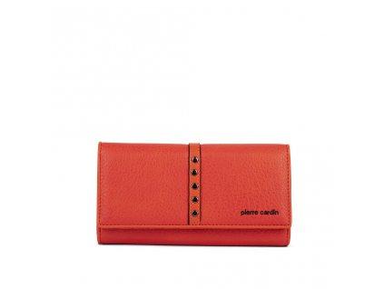 Dámská oranžová peněženka PIERRE CARDIN