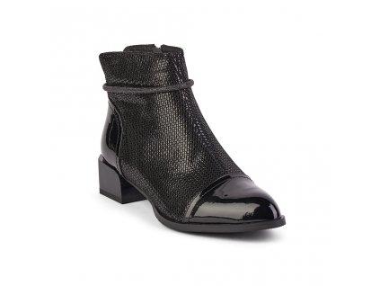 Dámská kožená kotníková obuv EPICA