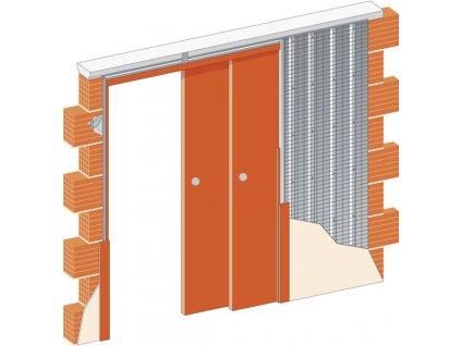 Stavební pouzdro Norma Parallel SDK
