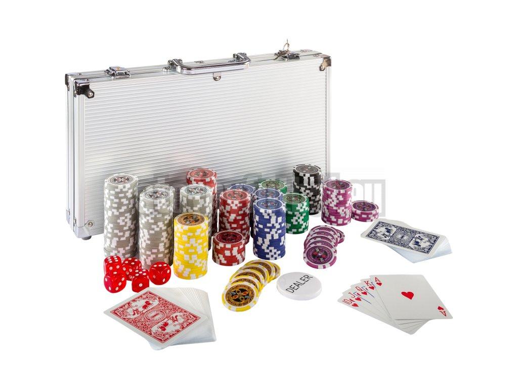 Poker Set - 300 laserových žetónov Ultimate