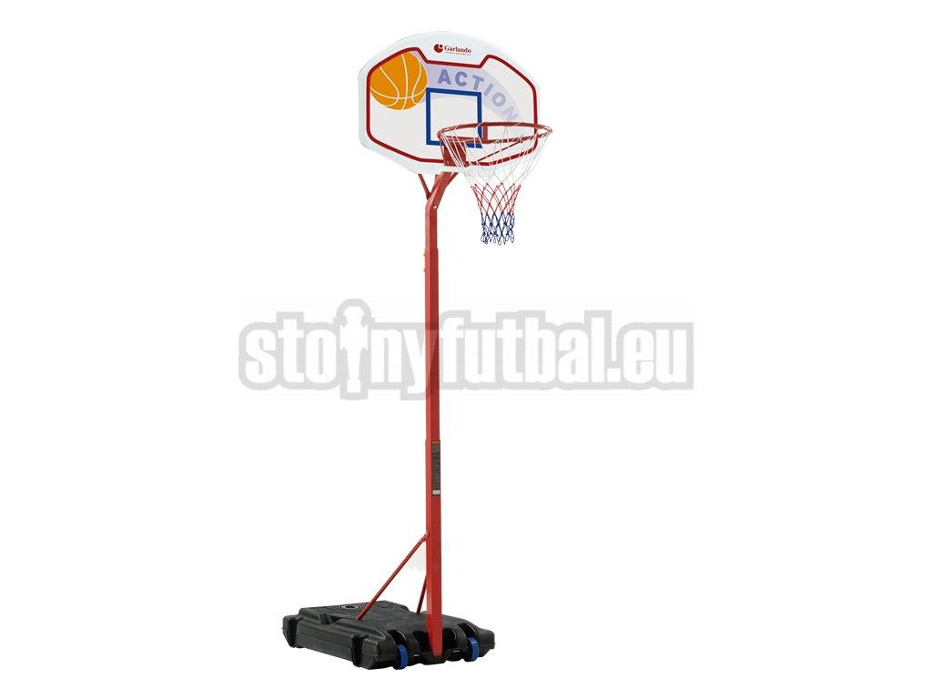 Basketbalový kôš Garlando DETROIT se stojanem, výška 210-260cm
