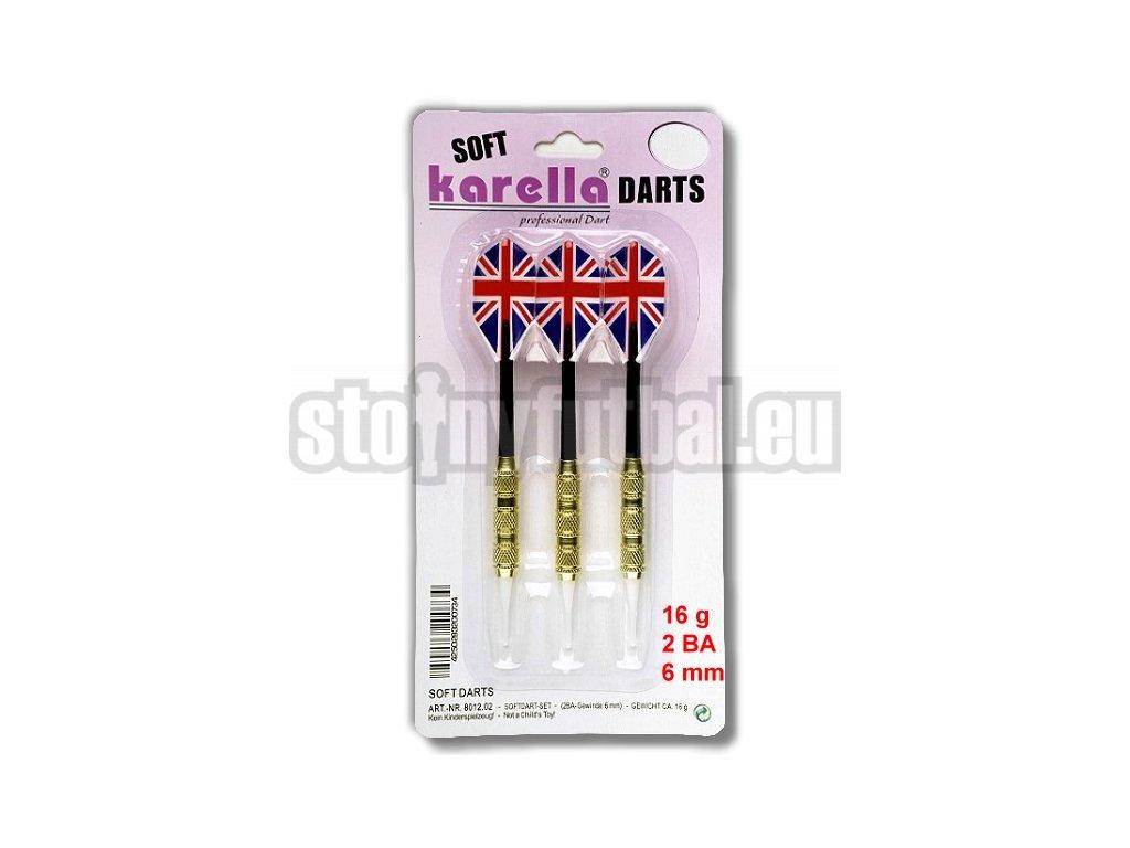 Karella Soft Blister 16 gr – sada 3 šípek