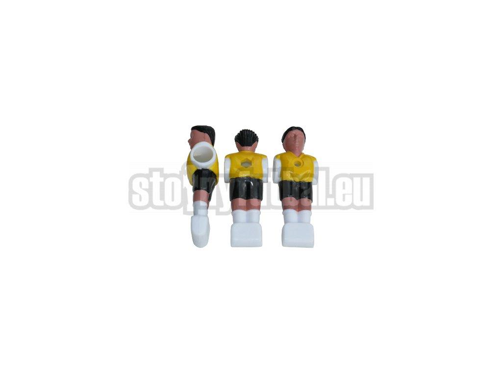 Hráč pre stolný futbal žltý Funny M