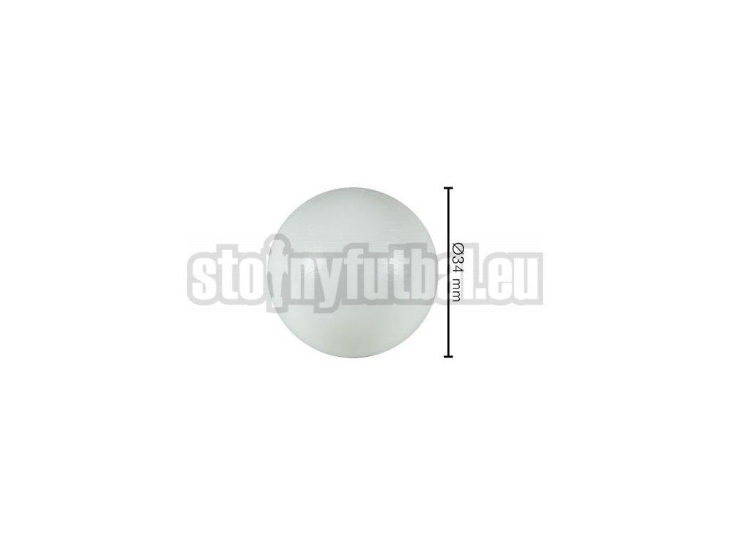 Lopta pre stolný futbal biela